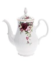 """Кофейник 1200 мл с крышкой ; """"Bernadotte"""", декор """"Английская роза, отводка золото"""""""
