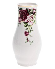 "ваза 19 см; ""Bernadotte"", декор ""Английская роза, отводка золото"""