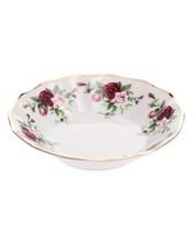 "Розетка для мороженого; ""Bernadotte"", декор ""Английская роза, отводка золото"""