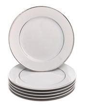 """Набор тарелок десертная 17 см 6 шт; """"LOUISE"""", декор """"Отводка платина"""""""