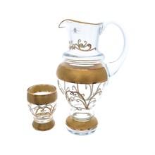 Набор для воды AS Crystal Матовое золото Relief 7 предметов