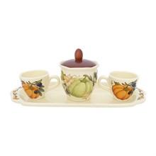Кофейный набор на подносе NUOVA CER Тыква 5 предметов