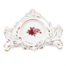Салфетник Queen's Crown Роза Перламутр 11 см